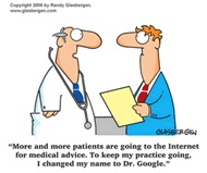 The issue of 'googling' patients