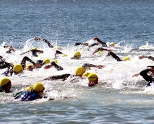 Triathlon swim start