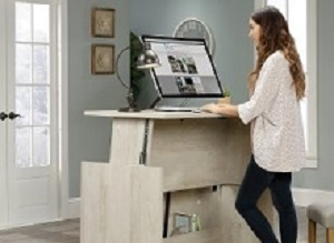 Sit-stand office desks appear to boost performance, psychological health