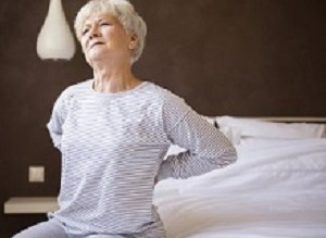Back pain associated with 24% increased mortality in older women