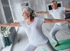 Home exercise regimen matches UK guidelines in less time