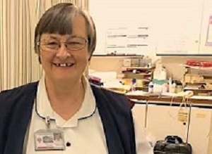 Nurse retires after 35 years of service and not one day of sick leave