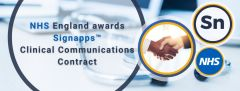 Signapps wins major contract from Britain's NHS to offer its clinical communication platform to NHS Trusts
