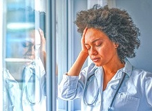 'Moral distress' significantly link with burnout in ICU clinicians during COVID-19